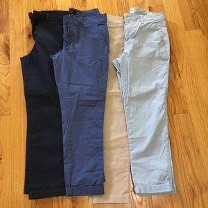 FOUR PAIRS SIZE 4 Pants
